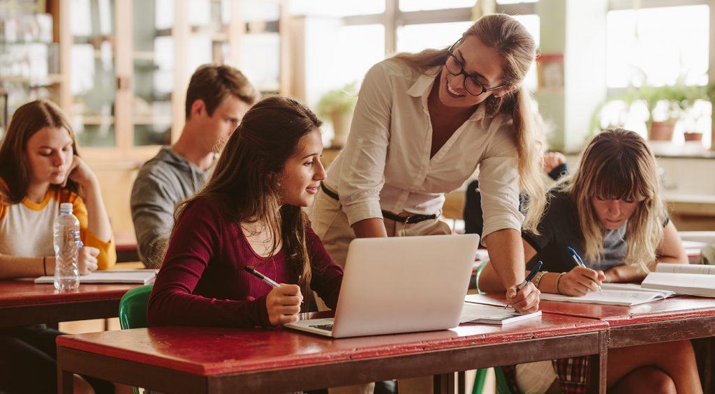 Teacher-student interaction